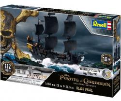 Plastikový model Revell Black Pearl (Čierna perla) , easy click 05499