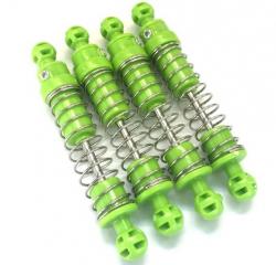 Náhradný diel HB: ROCK CRAWLER 4WD 1:14, tlmiče zelené 4ks