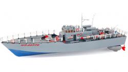 HT: Torpédová loď na ovládanie 1: 115 2,4GHz RTR - modra