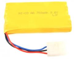 Batéria NiCd 700mAh 9.6V Tamiya 3 pin