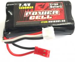 Náhradná batéria MJX F45,T23, T55, 7.4V 1200mAh Li-ion