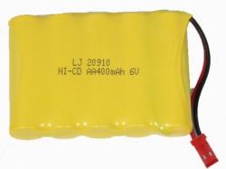 Náhradná batéria, Akumulátor 400mAh 6V Ni-Cd konektor JST