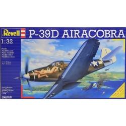 Plastový model na lepenie Revell P-39D Airacobra, 04868