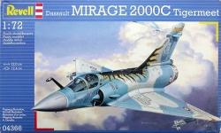Plastový model Revell Dassault MIRAGE 2000C Tigermeet 04366