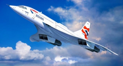 Model na lepenie Revell Concorde British Airways, 04997