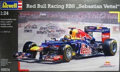 Revell, Red Bull Racing RB8 Sebastian Vettel, 07074