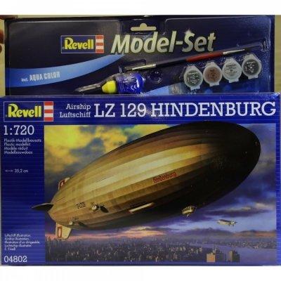 Plastový model Revell LZ129 Hindenburg Airship Luftschiff, 64802