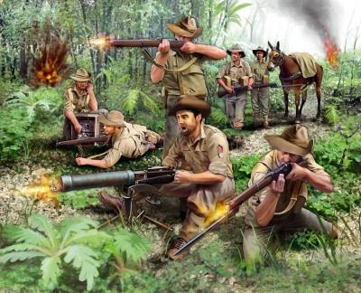 Plastové figúrky Revell Anzacs Infantry WWII 02529