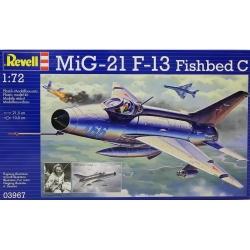 Plastikový model Revell MiG-21 F-13 Fishbed C, 03967