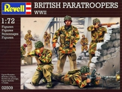 Plastové figúrky Revell British Paratroopers WWII 02509