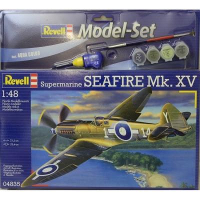 Plastový model Revell Supermarine Seafire Mk.XV ModelSet, 64835