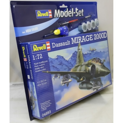 Plastikový model Revell Mirage 2000D Model Set, 64893
