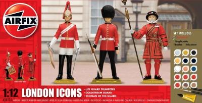 Plastové figúrky Airfix London Icons Gift Set,  A50131