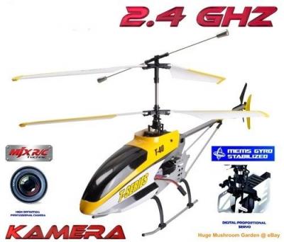 RC vrtuľník s kamerou MJX T40 / T40C / T640C