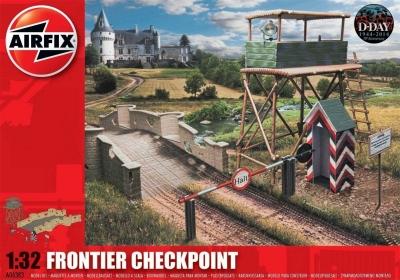 Plastikový model na lepenie Airfix Frontier Checkpoint A06383