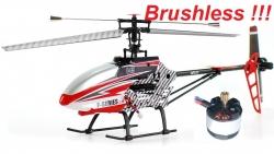 RC vrtuľník MJX F45 BRUSHLESS verzia 2, červený
