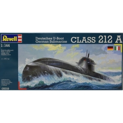 Plastikový model na lepenie Revell German Submarine U212A class 05019