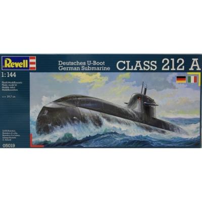 Plastikový model na lepenie Revell German Submarine U212A class 05019