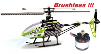 RC vrtuľník MJX F45 BRUSHLESS verzia 2, new regulátor Turnigy