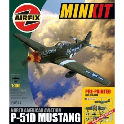 North American P-51D Mustang, Mini Kit,  A50074