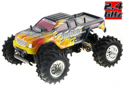 RC Auto HBX Bonzer Cross Tiger 2,4GHz, 4x4, čierné