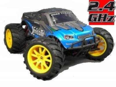 RC auto Haiboxing HBX Stormer XMissile 2,4 GHz, 4x4 modré