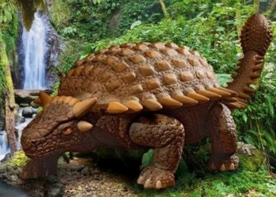 Plastový model Revell 0647 Ankylosaurus 1/13