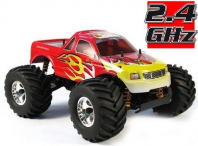 RC Auto HBX Bonzer Cross Tiger 2,4GHz, 4x4, červené