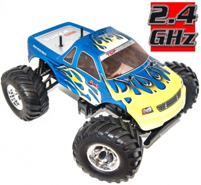 RC Auto HBX Bonzer Cross Tiger 2,4GHz, 4x4, modré