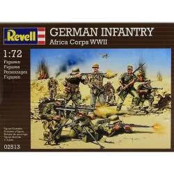 Plastové figúrky Revell German Infantry Africa Corps WWII 02513