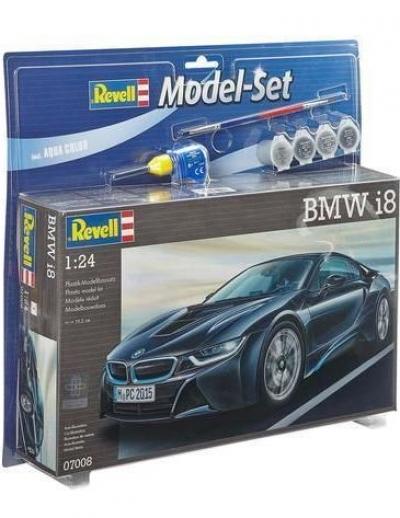 Plastový model Revell BMW i8 Model Set 1/24, 67008