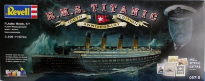 R.M.S. Titanic 100 Years Gift-set 05715, Revell
