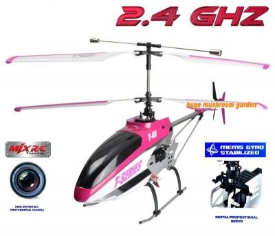 RC vrtuľník s kamerou MJX T40 / T40C / T640C, ružový