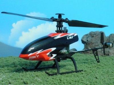 RC helikoptéra na diaľkové ovládanie ESKY150, 4CH 2,4GHz, Flybarless