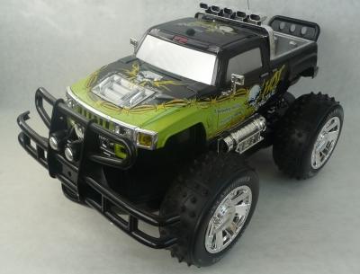 RC auto Obojživelník Hummer Amfibious zeleny, 4x4