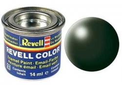 Email color 363 Tmavá zelená polomatná – Revell 32363