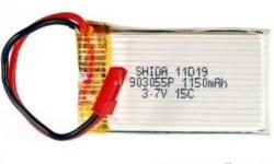 MJX F29 / F629 batéria Li-Poly 3,7 V 1150mAh