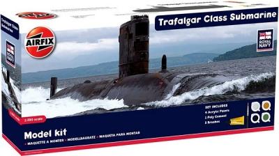 Plastikový model na lepenie Airfix Trafalgar Class Submarine Gift Set A50021