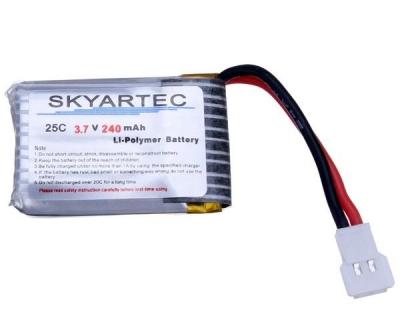 Náhradné Diely, Skyartec akumulator 3.7V 240mAh LiPo, NANO-026