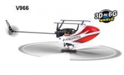 RC vrtuľník WLtoys V966 Power Star 1, 3D, 6 ch, Flybarless