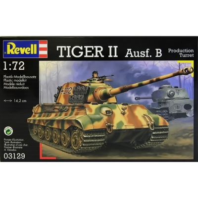 Plastikový model Revell Pz.Kpfw. VI King Tiger Ausf.B Production Turret, 03129