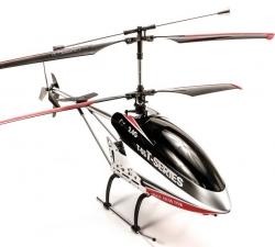 RC vrtuľník na ovládanie MJX T-55, T55, T655 čierný