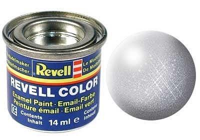 Email color 90 Striebro – metalíza - Revell 32190