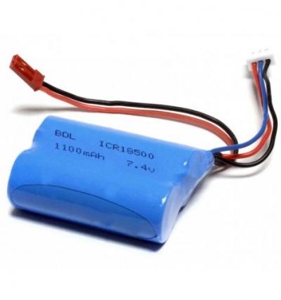 MJX T43, T34, T10, T11 batéria 7,4V 1100mAh