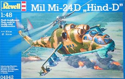Plastový model Revell Mil Mi-24D Hind 1/48, 04942
