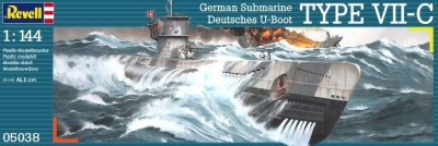 German Submarine Type VII C 05038