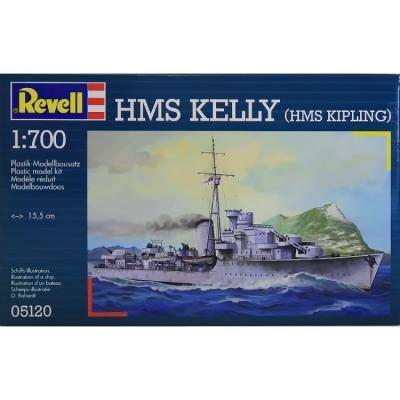 Plastový model Revell HMS KELLY (HMS KIPLING), 05120