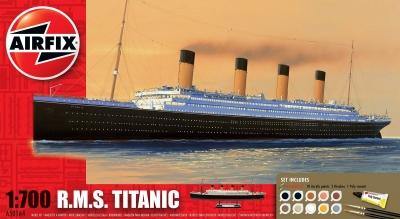 Plastikový model na lepenie Airfix R.M.S Titanic Giftset A50164