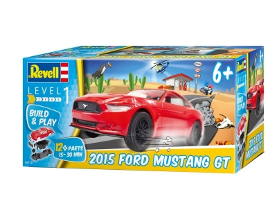 Plastikový model na skladanie Revell  Ford Mustang GT 2015 Buid&Play 1/25, 06110