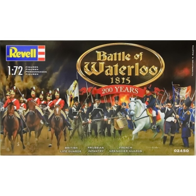 Plastové figúrky Revell Battle of Waterloo 1815 200 Years, 02450